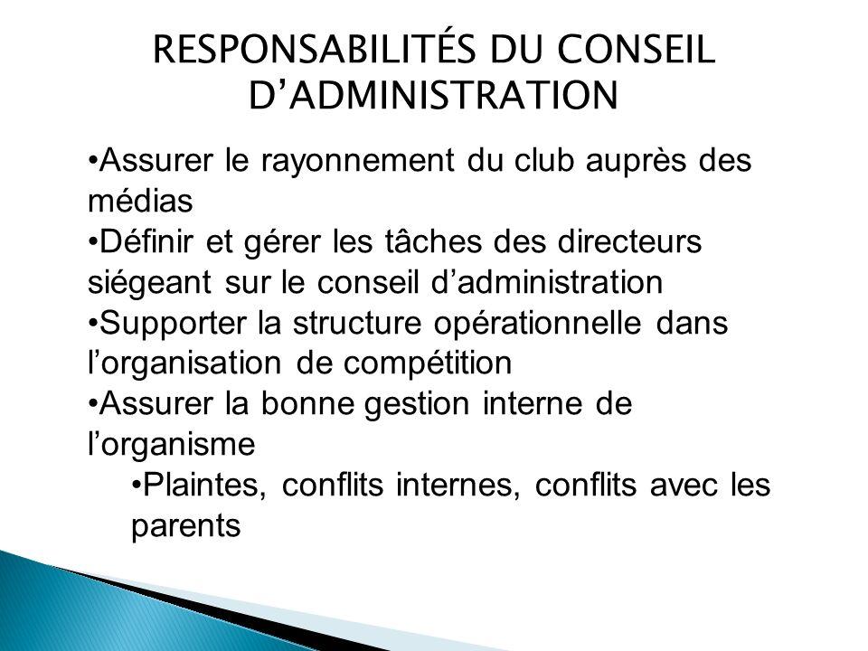 Dans notre milieu, il existe deux modèles de fonctionnement pour l engagement de l administrateur principal: Un directeur général ou un entraîneur-chef….