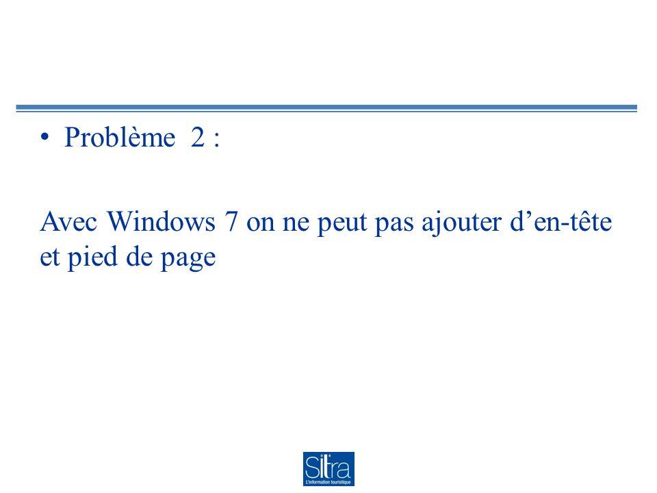 Solution : Préparer une en-tête sous Word et y copier le questionnaire généré : démonstration