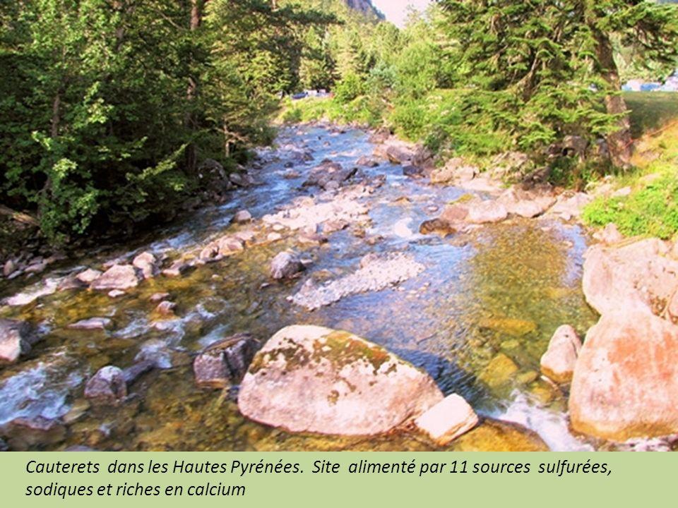 Cauterets dans les Hautes Pyrénées.