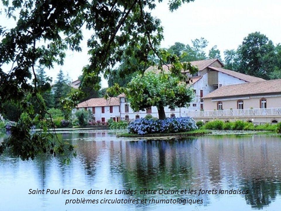 Saint Paul les Dax dans les Landes entre Océan et les forets landaises problèmes circulatoires et rhumatologiques
