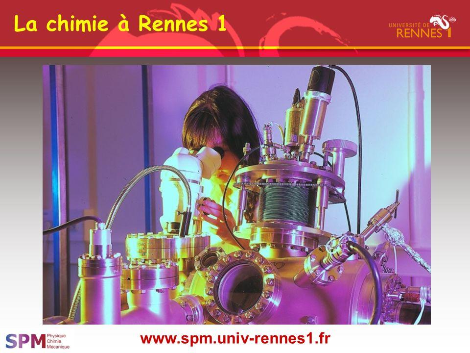 La chimie à Rennes 1