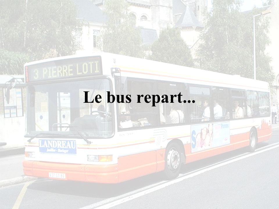 Le bus repart...