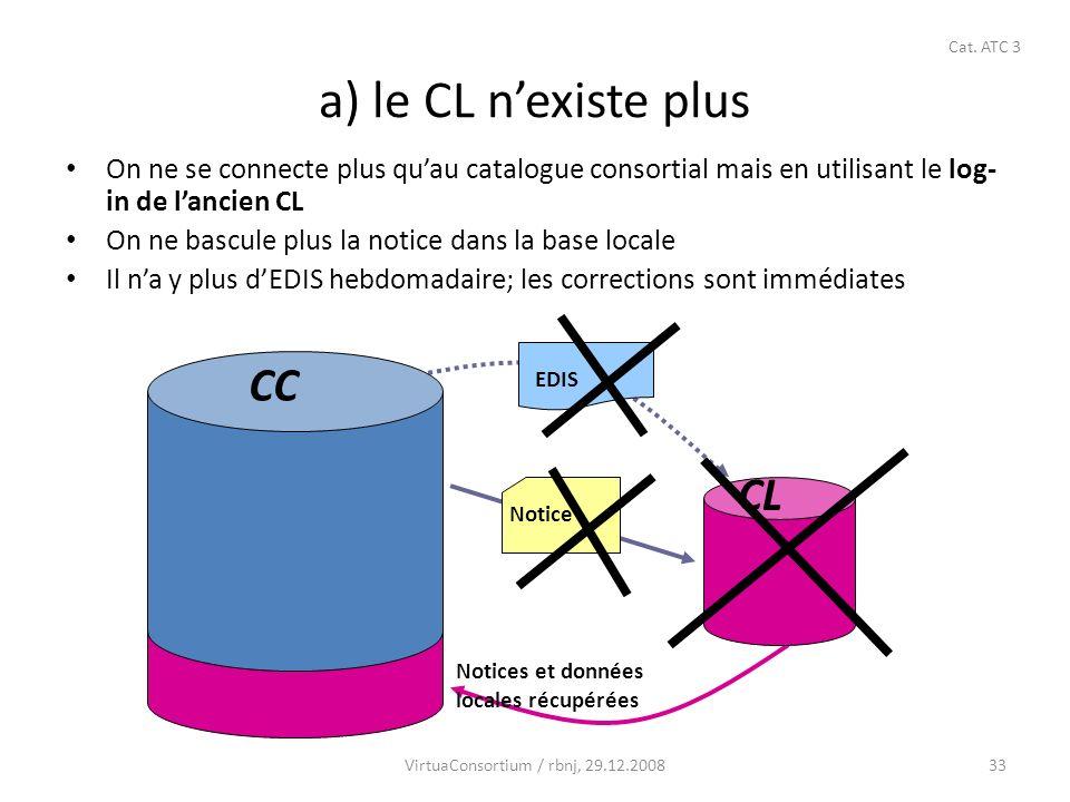 34 b) Toutes les notices locales ont été remontées au catalogue consortial VirtuaConsortium / rbnj, 22.12.2008-2 Cat.