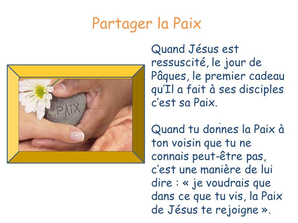 Fraction du Pain Agneau de Dieu Qui enlèves le péché du monde, Prends pitié de nous .
