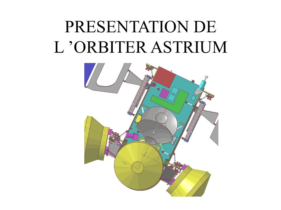 PRESENTATION DE L ORBITER ASTRIUM