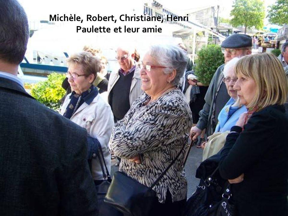 Michèle, Robert, Christiane, Henri Paulette et leur amie
