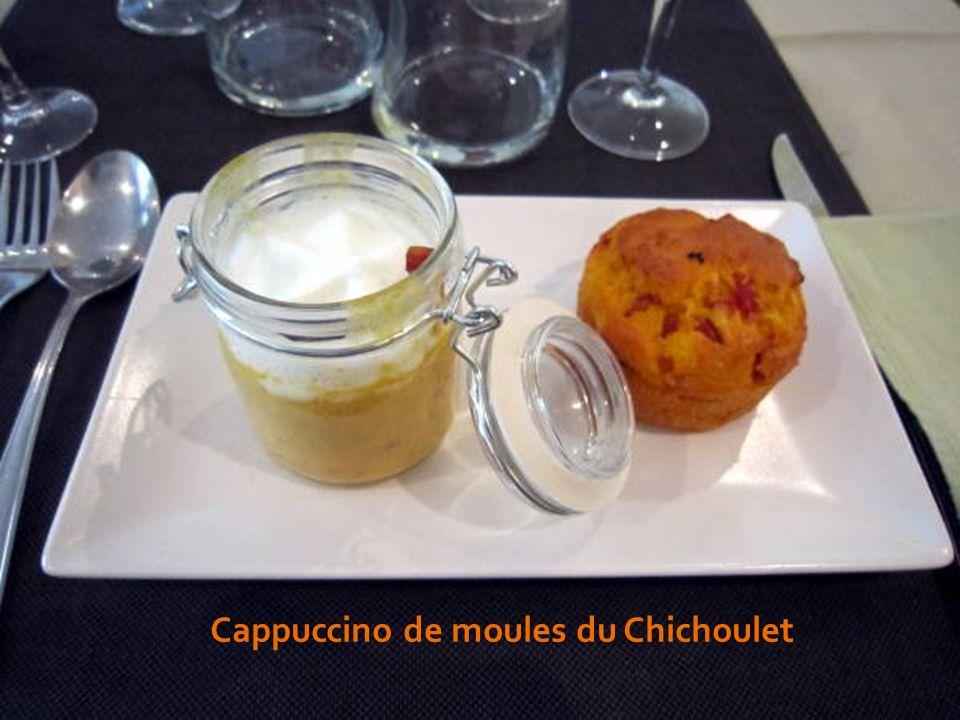 Cappuccino de moules du Chichoulet
