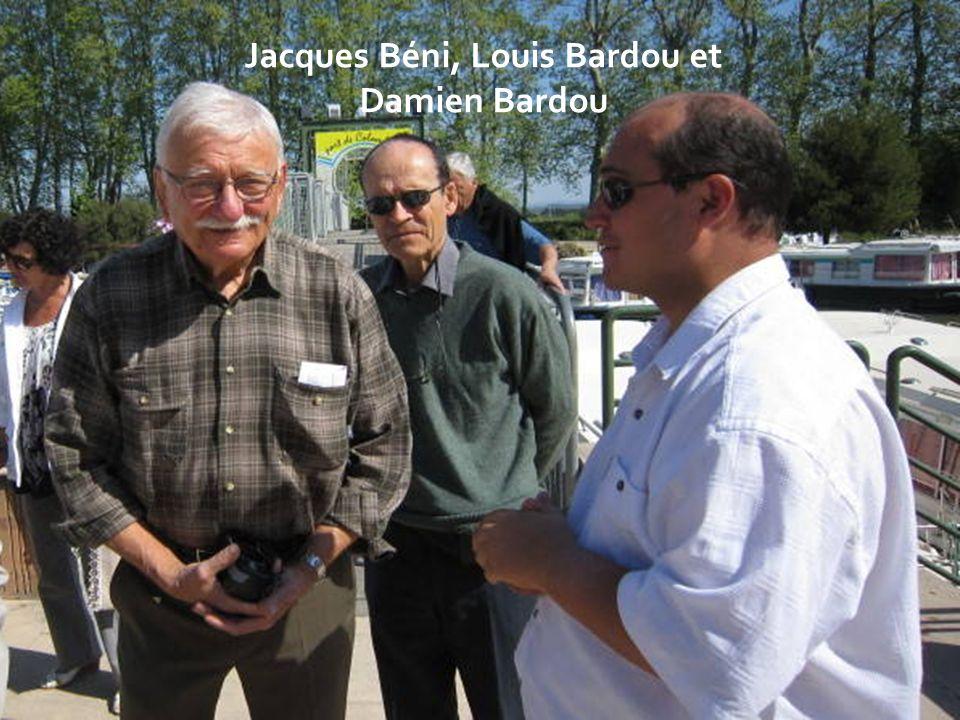 Jacques Béni, Louis Bardou et Damien Bardou