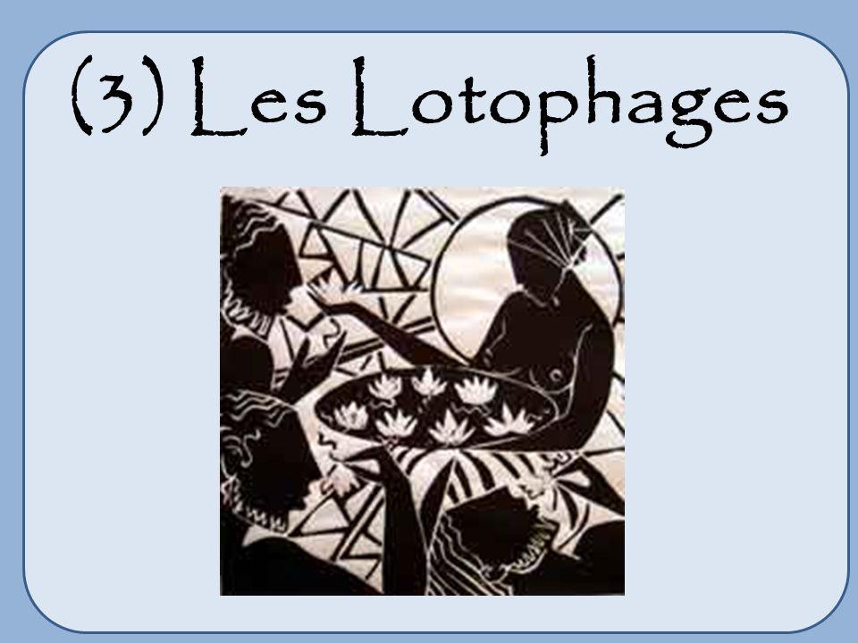 (4) Lile des cyclopes Le cyclope Polyphème (bas-relief)