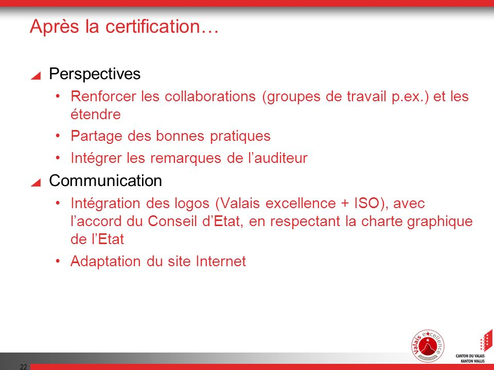 Le point de vue des responsables du label Valais excellence M.