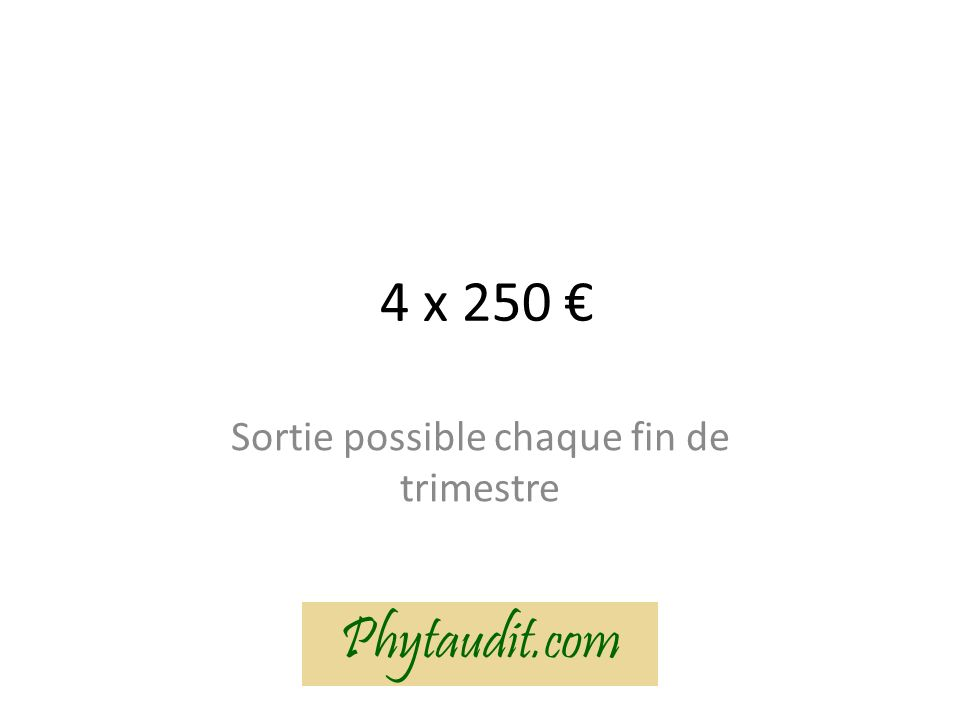 Merci de votre attention ! Phytaudit.com