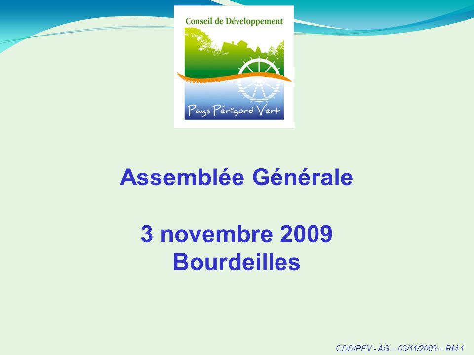 CDD/PPV - AG – 03/11/2009 – RM 2
