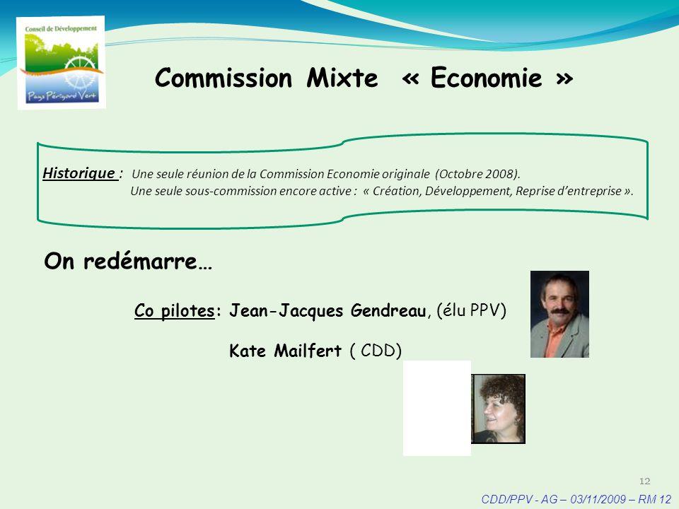 CDD/PPV - AG – 03/11/2009 – RM 13 13 Objectifs/ Valeur ajoutée: Faciliter léchange didées, des pratiques et des ressources entre acteurs citoyens (CDD) et acteurs publics, et entre élus des Communautés de Communes sur la totalité du territoire PPV.