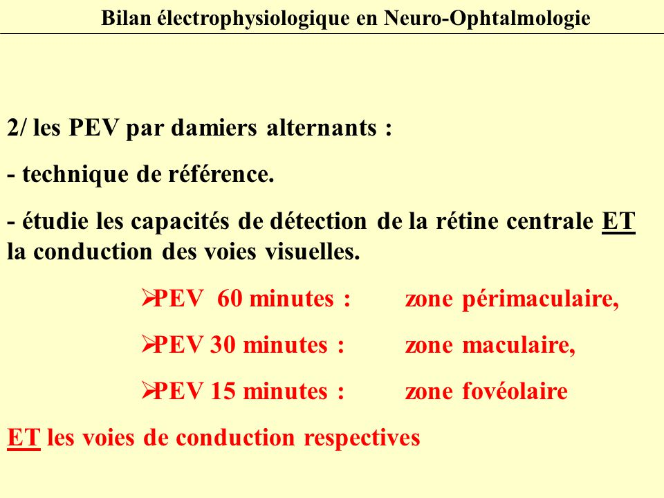 science.mcmaster.ca Explorations Electrophysiologiques Neuro-Visuelles