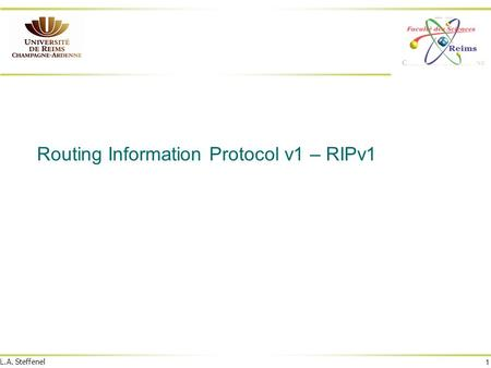 Routing Information Protocol v1 – RIPv1