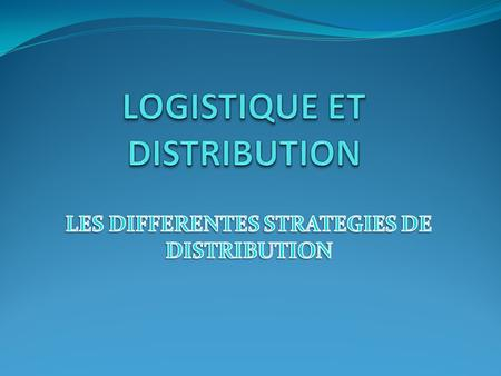 PLAN INTRODUCTION I- DEFINITION DE LA DISTRIBUTION II- FONCTIONS DE LA DISTRIBUTION III- CRITERES DE CHOIX D'UN CIRCUIT IV- COMPARAISON ENTRE CONCESSION.