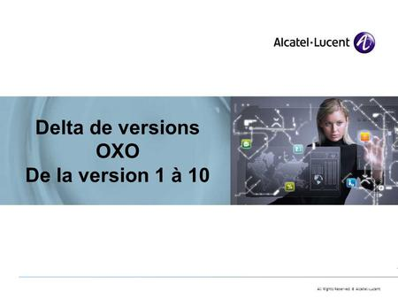 Delta de versions OXO De la version 1 à 10