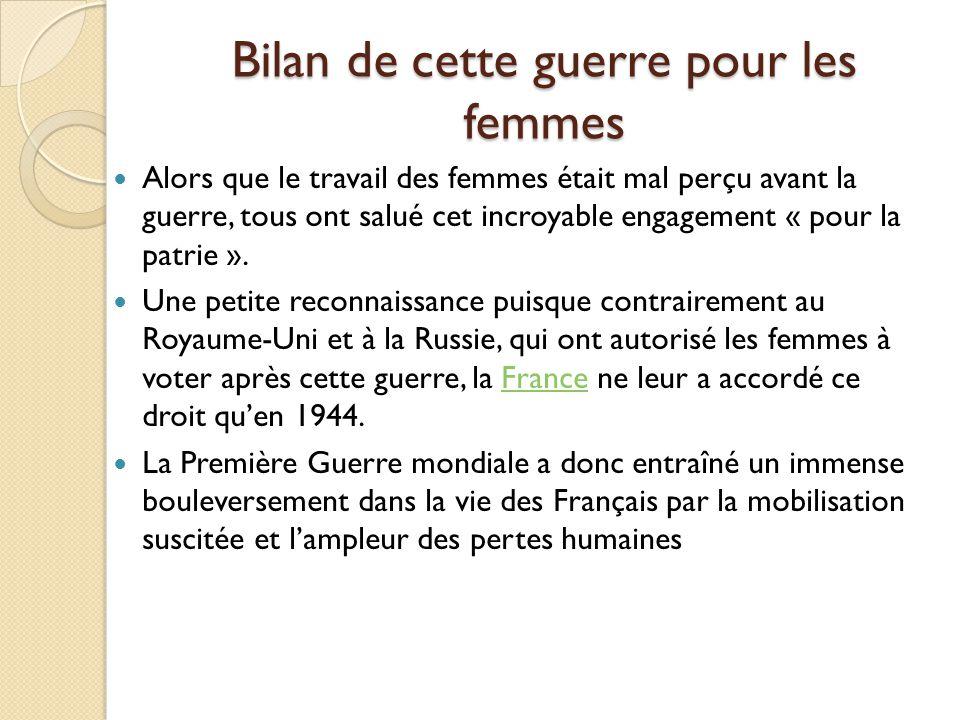 Sources Photographies: http://www.leparisien.fr/magazine/grand-angle/en-images-1914-1918-le-front- des-femmes-07-05-2014-3822503.php?pic=2#infoBulles1 http://87dit.canalblog.com/archives/2013/03/13/26636893.html Autres ressources: La classe de steph La classe de