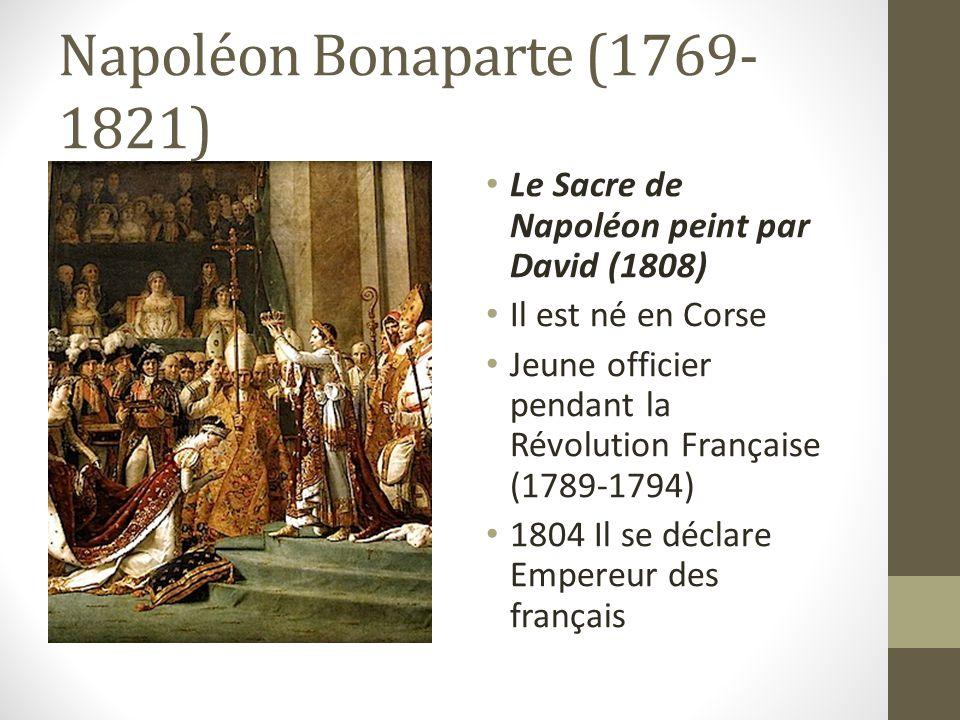 Général Bonaparte Comment.1. Officier 2. Un des chefs du gouvernement 3.