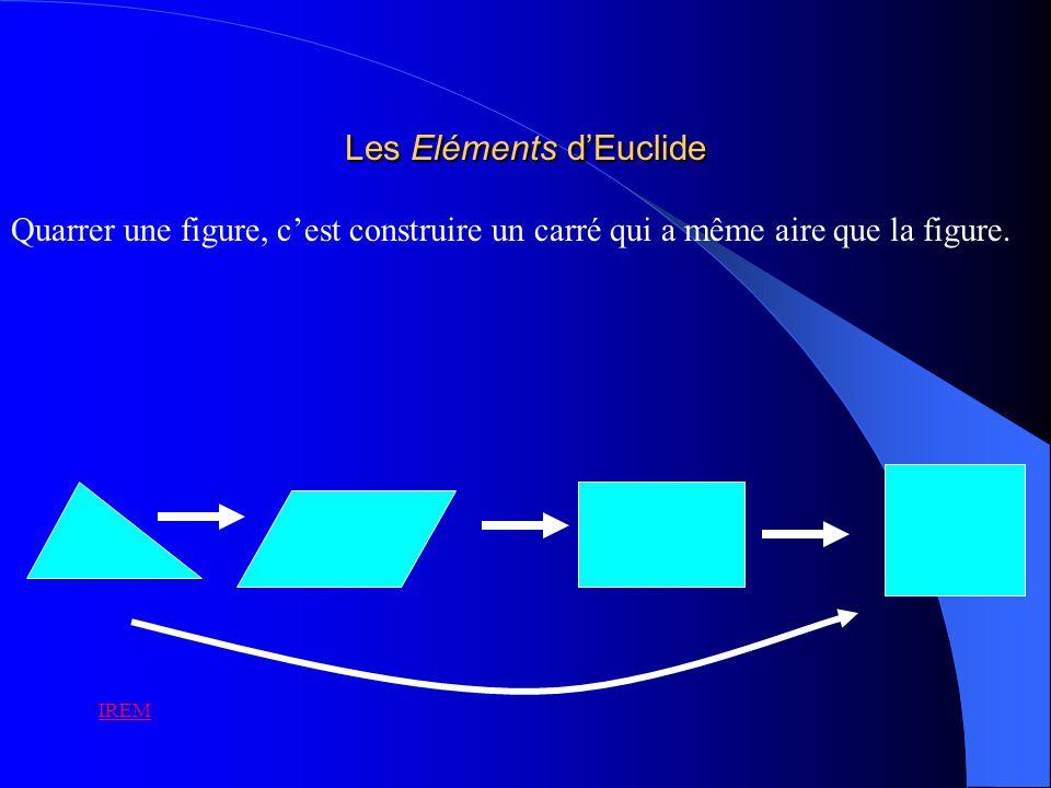 Lalgèbre au secours de la géométrie Descartes (1596 – 1650) Viète (1540 – 1603) De lAntiquité grecque au XVI e siècle, les grands problèmes grecs semblent tomber dans loubli.