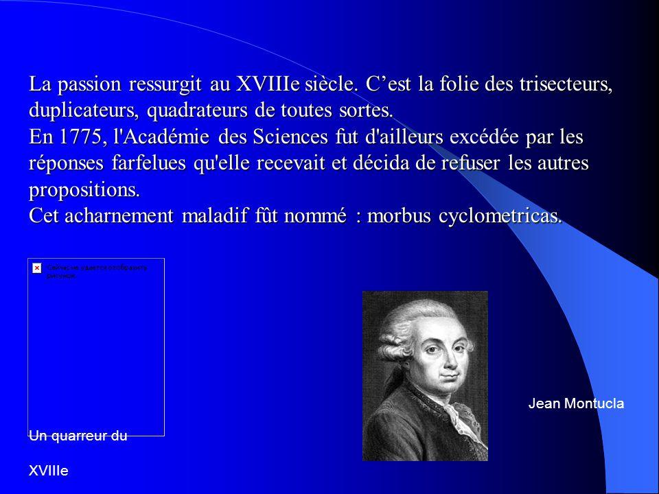 Théorème de Wantzel ( 1837 ) Le théorème de Wantzel précise les conditions nécessaires et suffisantes pour qu un nombre soit constructible.