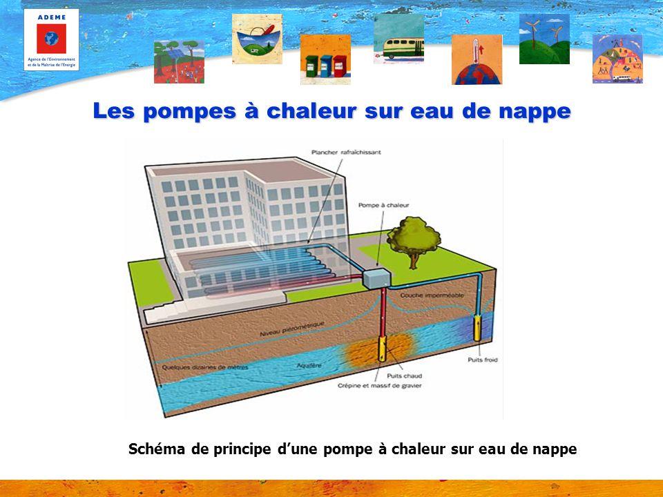 Pompe à chaleur sur nappe deau souterraine Les 16 000 m2 de la CAF de Lyon sont chauffés à l aide de deux pompes à chaleur sur eau de nappe