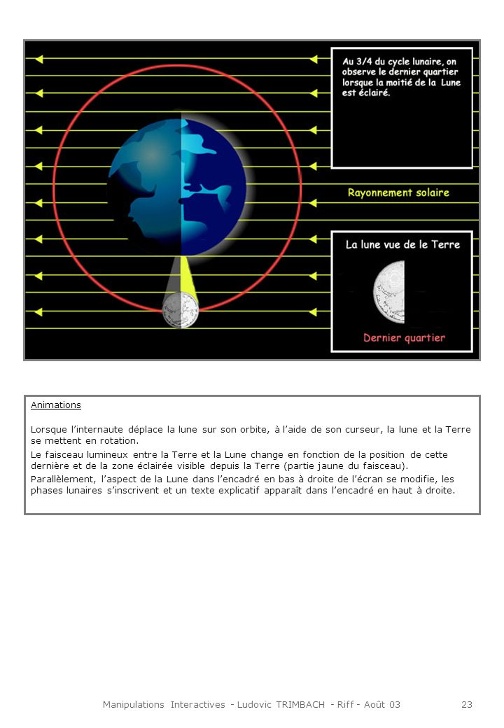 Manipulations Interactives - Ludovic TRIMBACH - Riff - Août 0324 « Les constellations sont nombreuses, il te suffit de lever les yeux au ciel pendant une nuit bien étoilée pour en voir certaines, différentes en fonction de la période de lannée et de ta position géographique.