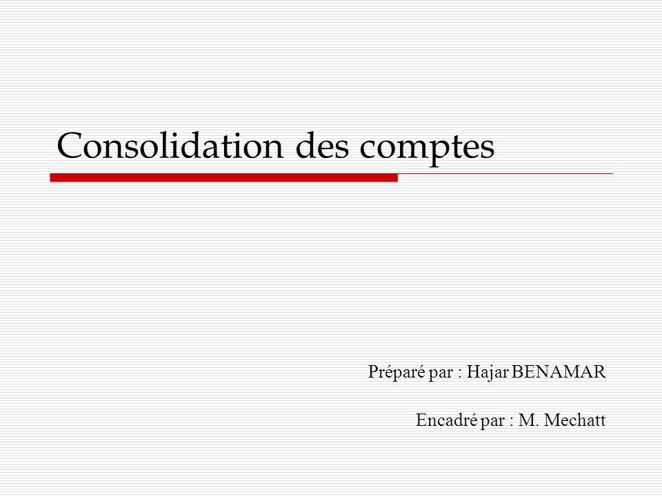 Sommaire Obligation détablir les comptes consolidés Les entreprises publiques Les sociétés cotées Les banques Diligences du commissaire aux comptes pour laudit des comptes consolidés.