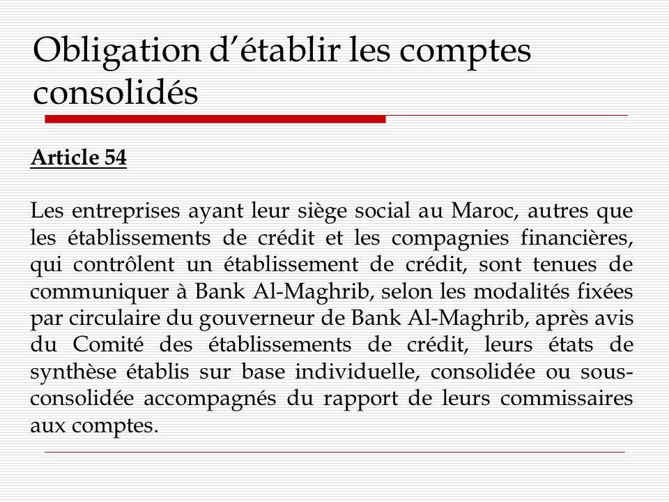 Diligences du commissaire aux comptes pour laudit des comptes consolidés