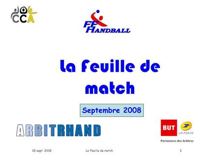 11 Septembre 2008 La Feuille de match V2-sept 2008.