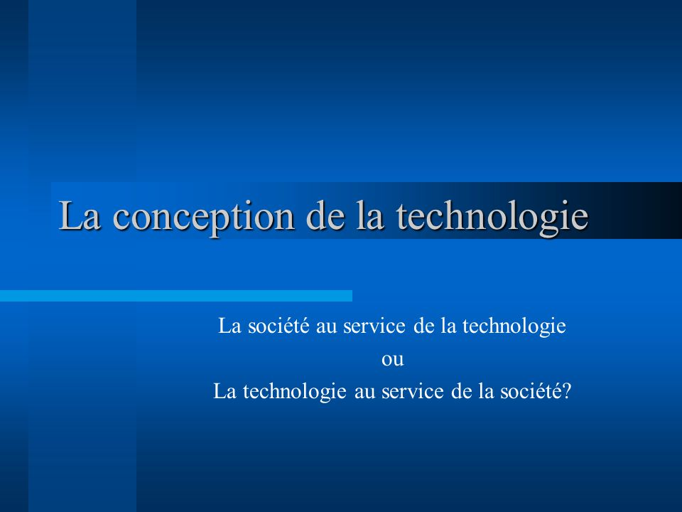 Du déterminisme technique « The far-reaching use of IT in the information society will alter significantly the way one lives, works, learns, and entertains, all because of the two empowering properties of IT.