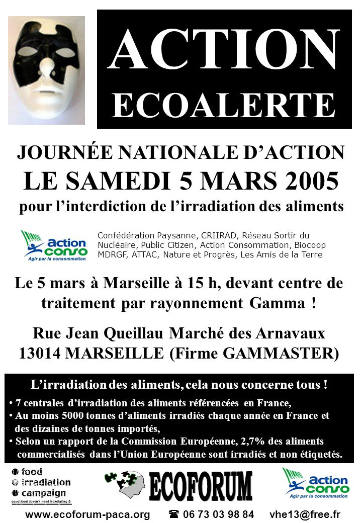 ACTION ECOALERTE Lirradiation des aliments, quest-ce que cest .