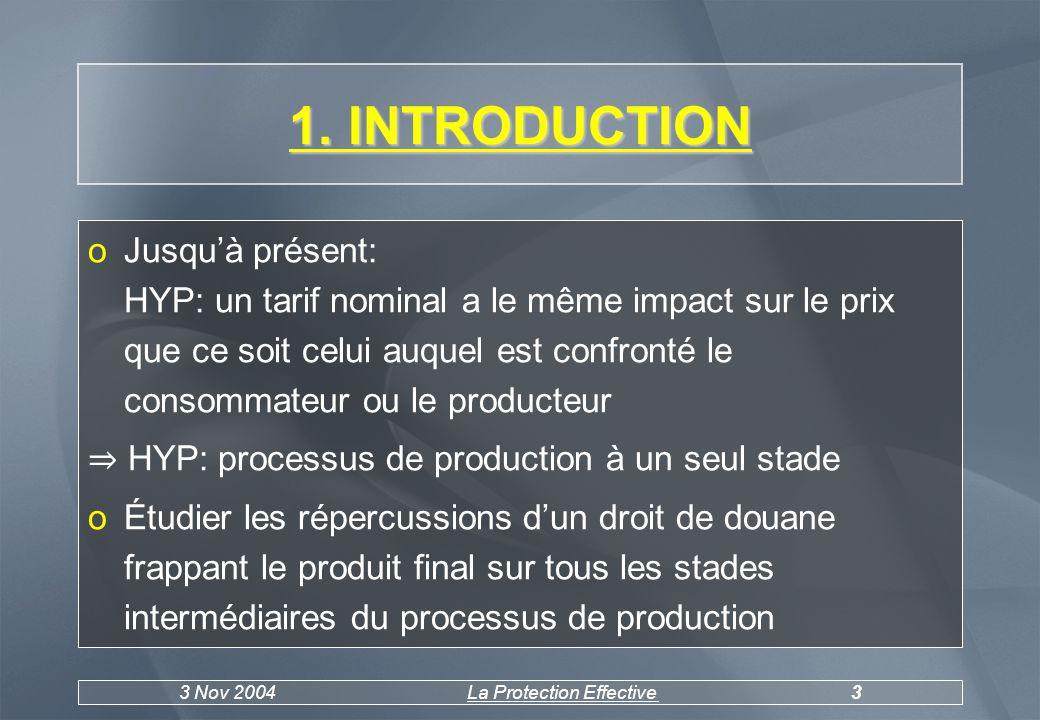3 Nov 2004La Protection Effective4 2.