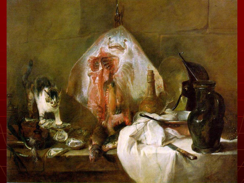 Jean-Siméon CHARDIN(1699, 1779) La Raie, 1725-1726 Huile sur toile, 114x146cm Paris, musée du Louvre