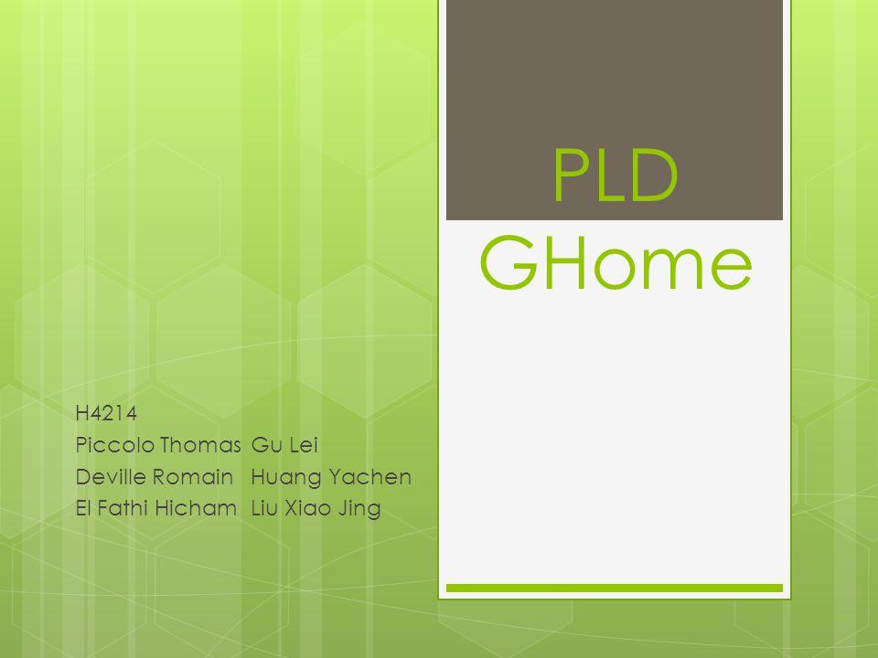 PLD GHome H4214 Gestion de Projet Partie Serveur Architectures Noyau Applicatif Moteur de Règle IHM Web Partie Système Gestionnaire de Mémoire : Gmem Gestionnaire de Tâches : Gthread Conlusion 2/33