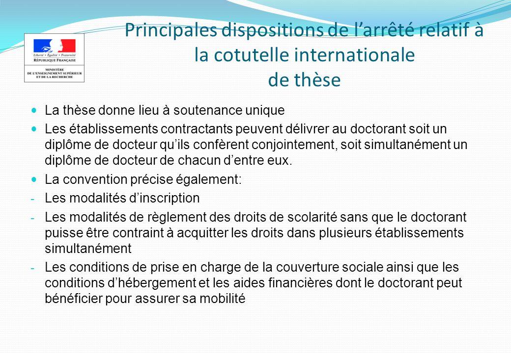 Aides à la mobilité internationale des doctorants (programmes français)