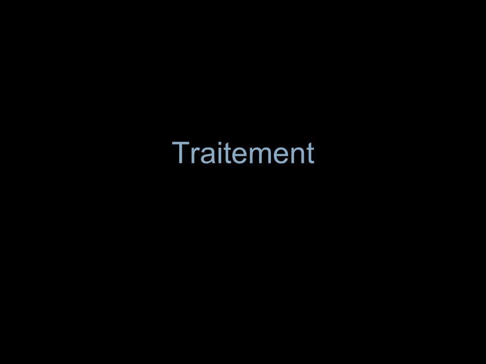 Traitement médical Traitement de linsuffisance cardiaque Proscrire: –Anticoagulants sauf FA, prothèse mécanique –Aspirine Chan JACC 2003;42:775 –Corticothérapie Surveillance du malade (Biologie, ECG, Echo, Imagerie) Cure du foyer infectieux