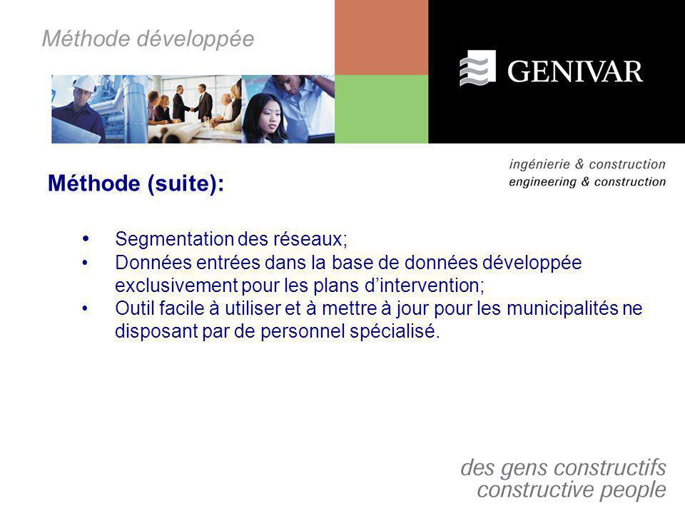 Aspect géomatique MuniSIG Réseaux -Partenariat avec Consortech Le relevé doit être géodésique; Les logiciels utilisés par GENIVAR sont: -Autodesk Map 3D 2007; -MuniSIG Réseaux 2.01
