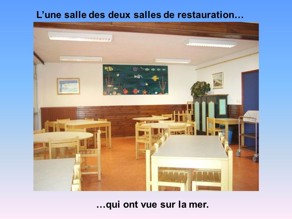 Les chambres… Les élèves seront logés dans des chambres de 4 à 5 lits avec sanitaires complets.