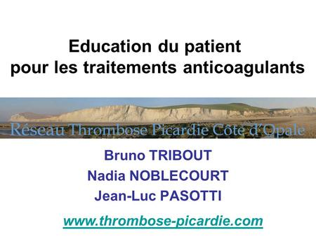 Bruno TRIBOUT Nadia NOBLECOURT Jean-Luc PASOTTI