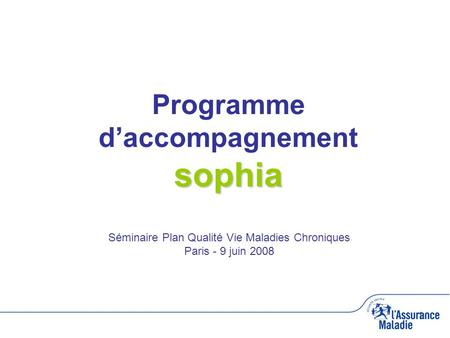 Programme d'accompagnement sophia
