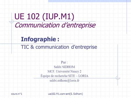 Technologies de linformation et de la communication