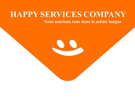 HAPPY SERVICES COMPANY