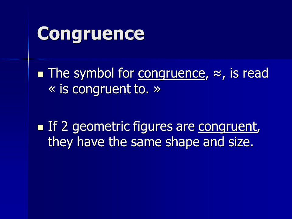 How to determine 2 Congruent Triangles To determine 2 congruent triangles, we must check a set of minimum sufficient conditions: To determine 2 congruent triangles, we must check a set of minimum sufficient conditions: 1.