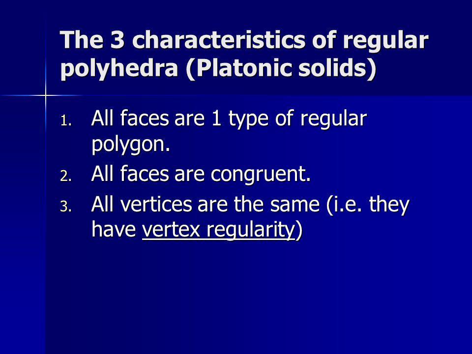 What is vertex regularity.