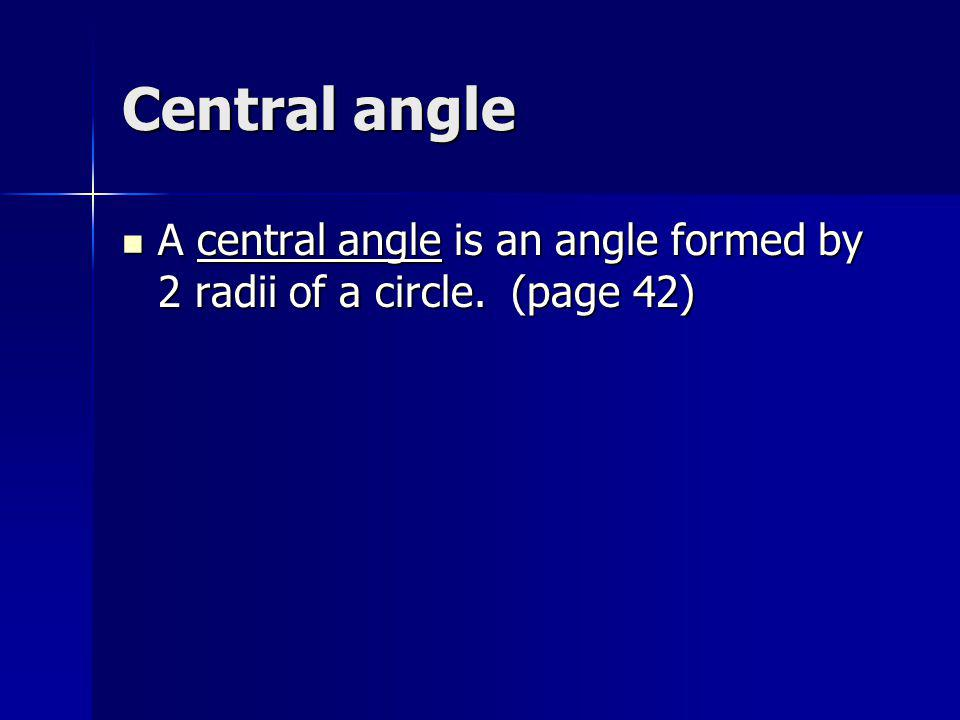 Inscribed angle An inscribed angle is an angle that has its vertex on a circle and is subtended by an arc of the circle.