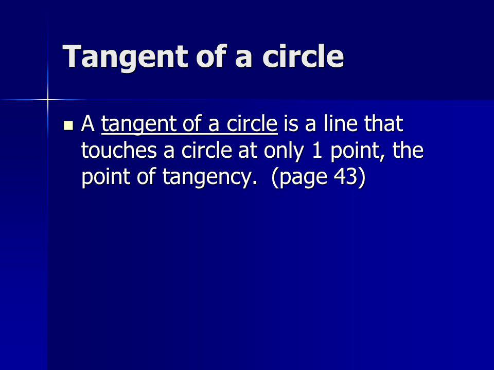 Circumscribed angle A circumscribed angle is an angle with both arms tangent to a circle.