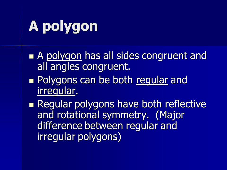Regular polyhedron A regular polyhedron is a 3-D figure with faces that are polygons.