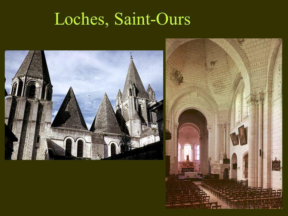 d. Les églises-halles Saint-Savin-sur- Gartempe 1060-1115 Type « pseudo-halle »