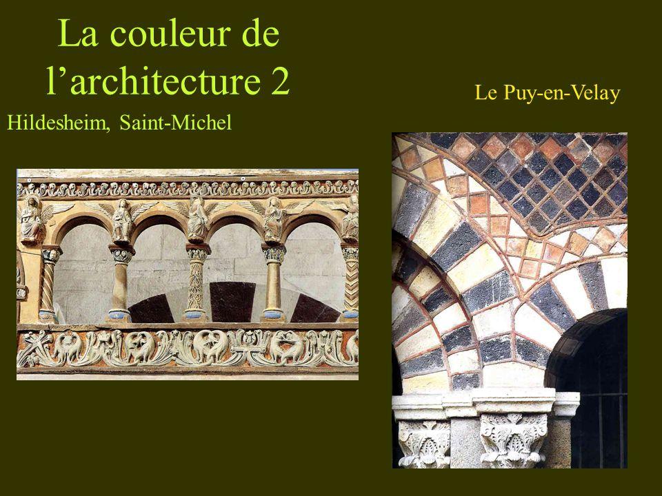 La couleur de larchitecture 3 Cluny Issoire